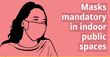 Mandatory masks 460 x 240